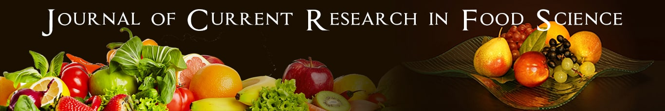 Journal of Current Research in Food Science